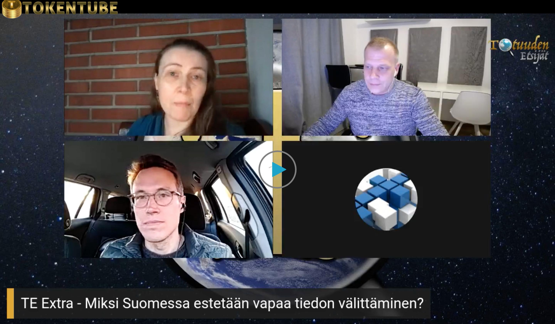 Miksi Suomessa estetään vapaa tiedon välittäminen?